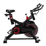 AsVIVA Indoorcycle Speedbike S11 mit 18kg Schwungmasse schwarz, inkl....