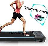 CITYSPORTS Laufband mit 440 W Elektromotor, integrierte Bluetooth-Lautsprecher,...
