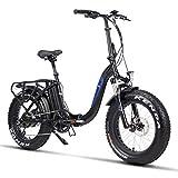 Fitifito klappbar Fatbike FT20 20 Zoll Elektrofahrrad Fatbike E Bike Pedelec 48V...