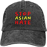 'N/A' Stop Asian Hate Adjustable Casquette Cowboy Hat Sports Outdoors Cap